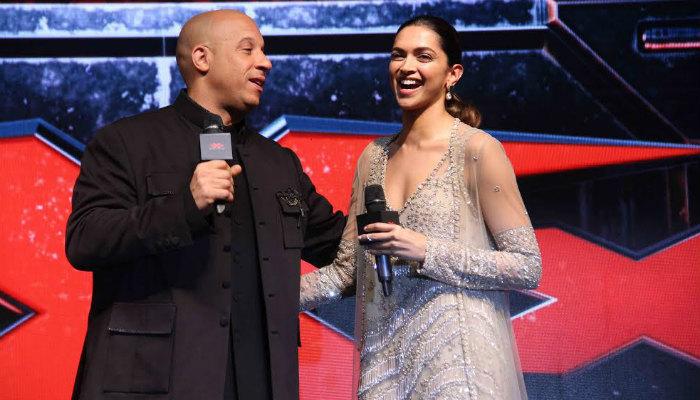 Watch: DeepikaPadukone and Vin Diesel do Lungi Dance at xXx: Return of Xander Cagepremiere