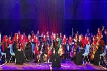 Fighting all odds, Afghanistan's all women-orchestra has won themselves a stage at WEF inDavos
