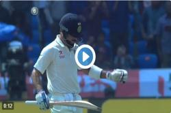 Watch! That 'Virat Kohli' moment that will become a part of Indian cricket folklore,soon