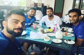 Virat Kohli breakfast