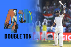 Another feat: Virat Kohli becomes first captain to score three double tons in aseason