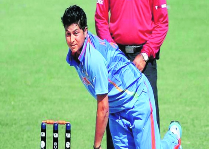 Kuldeep Yadav replaces `injured` Amit Mishra for B'desh Test