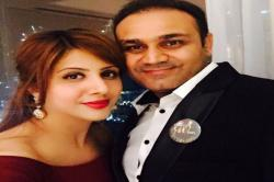 Virender Sehwag on Valentine's day: Our (Viru-Aarti) love story is my favourite!
