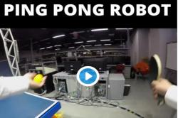 Watch: Believe it or not! World's first ROBOT table tennis tutor sets Guinness record