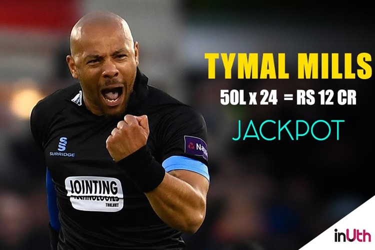 Auckland cricket ace Tymal Mills an instant millionaire
