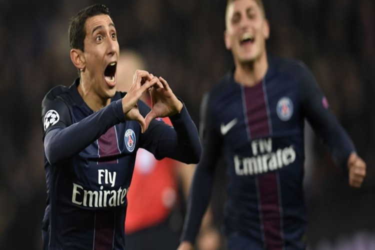UEFA Champions League: Barcelona stumbles to PSG, birthday boy Di Maria nets two