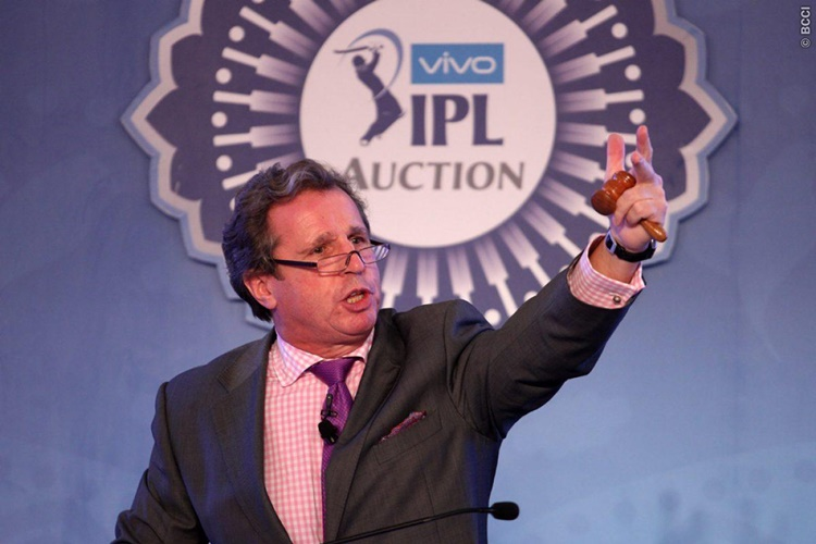IPL franchisee release players auction list