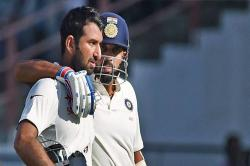 India vs Bangladesh, Day 1 lunch report: Pujara, Vijay steady the ship after earlywreck