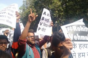 Ground Report: DU, JNU students across political divide unite against ABVP following Ramjas clash.
