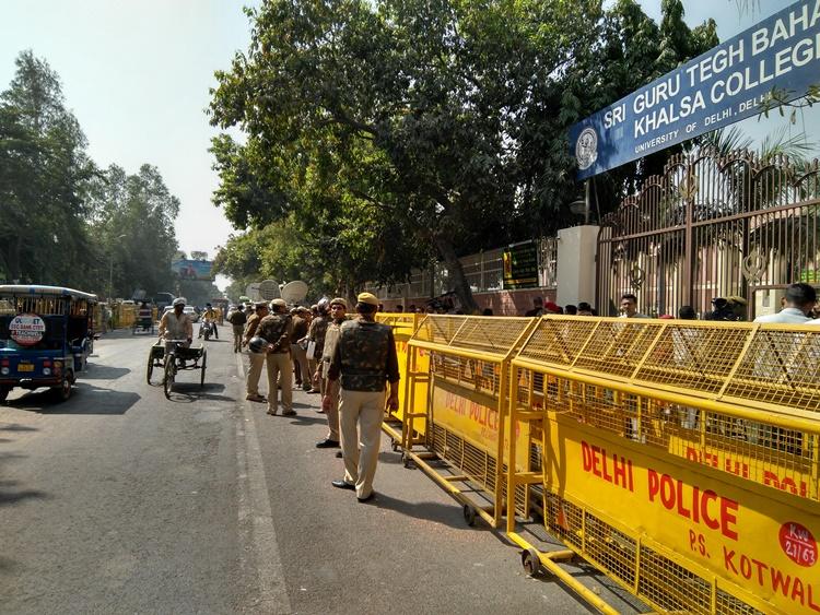 DU, JNU students across political divide unite against ABVP following Ramjas clash