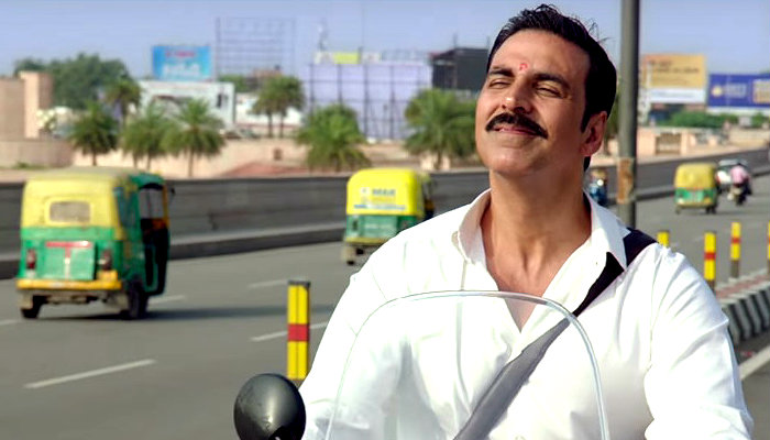 Akshay Kumar in a still from Jolly LLB 2