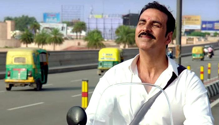 Akshay Kumar in a still from Jolly LLB 2