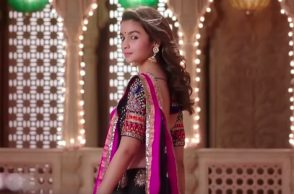 Alia Bhatt in a still from Badrinath Ki Dulhania. (Courtesy: YouTube/Dharma Productions)