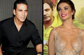 Amy Jackson, Akshay Kumar IANS photo for InUth.com
