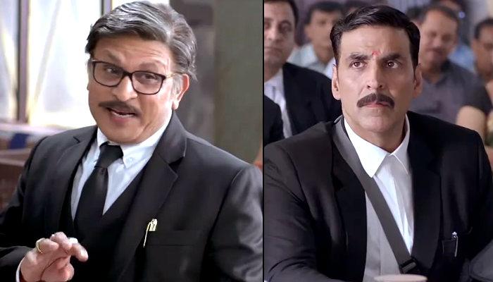 Annu Kapoor Akshay Kumar Jolly LLB 2 still