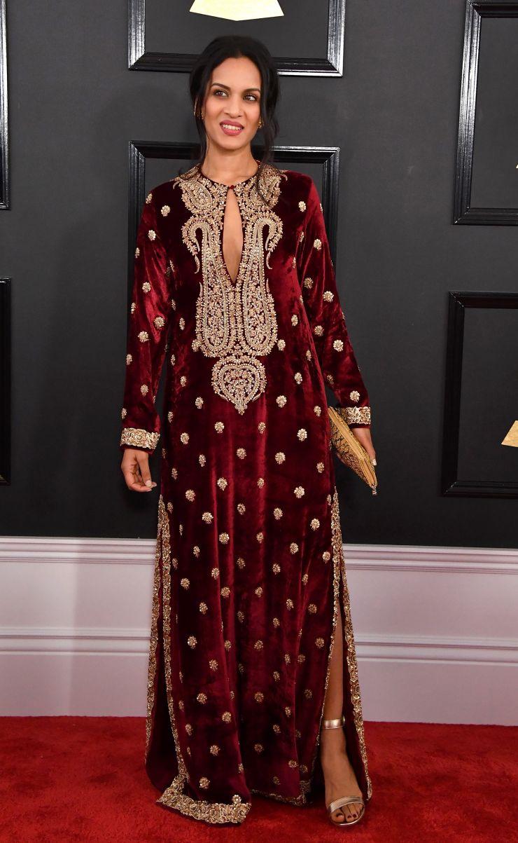 Anoushka Shankar Grammys 2017   Image for InUth.com