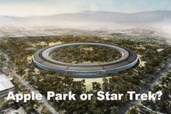 Apple's new campus looks like Star Trek spaceship and it would be functional from April