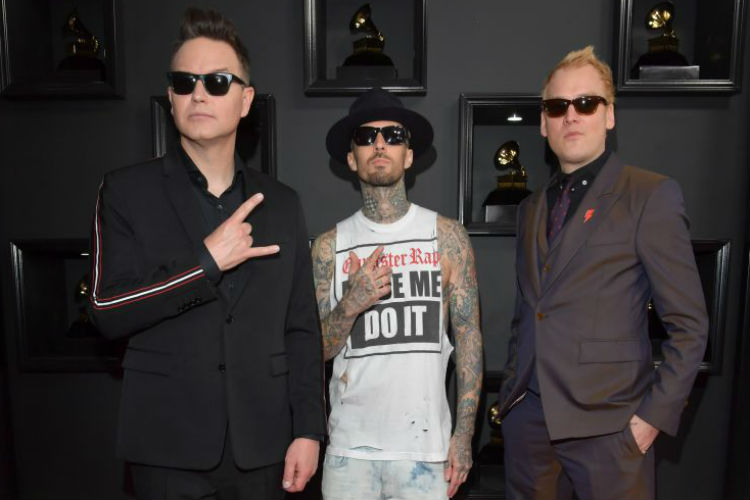 Blink 182 Grammys 2017 | Image for InUth.com