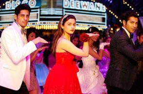 Sidharth Malhotra, Alia Bhatt and Varun Dhawan. (Courtesy: YouTube grab/Dharma Productions)