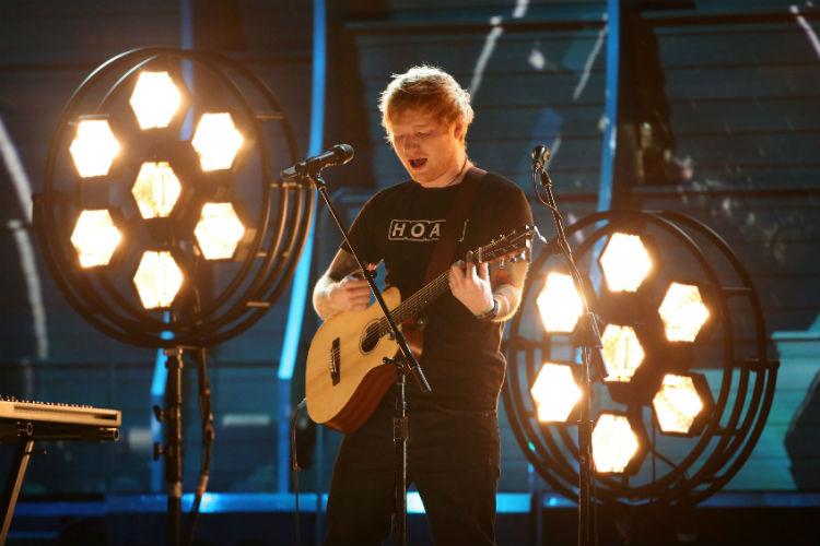 Ed Sheeran Grammys 2017