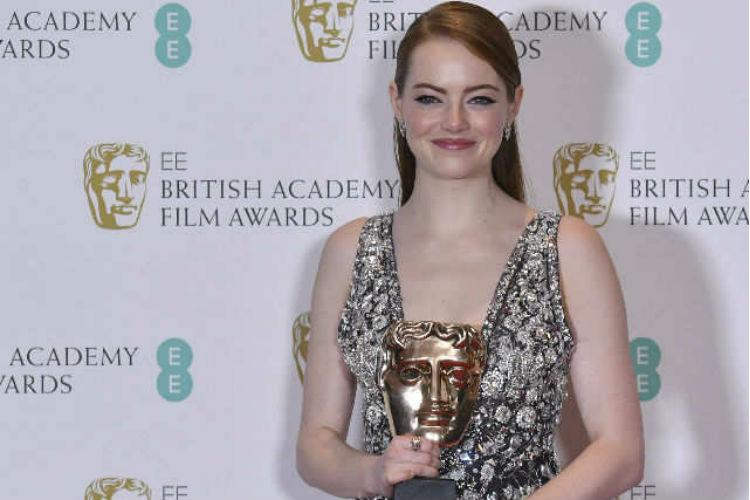 Emma Stone BAFTAs
