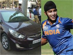 Cricketer gets bail after ramming car onto the Mumbai station platform