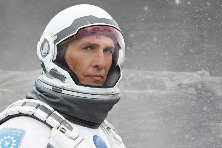Interstellar Matthew McConnaughey