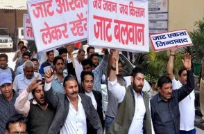 Jats observe 'Black Day' in Haryana