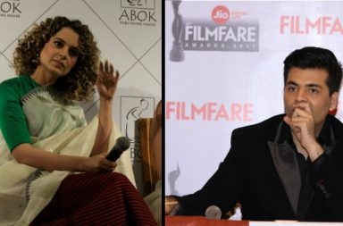 Karan Johar and Kangana Ranaut (Courtesy: IANS)