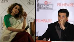 After Alia Bhatt, now Karan Johar opens up about Kangana Ranaut's nepotism remark