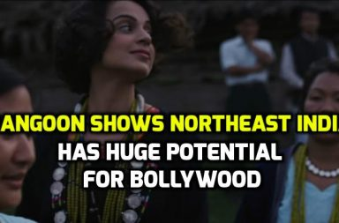 Kangana Ranaut in a still from Rangoon. (Courtesy: YouTube/T-Series)