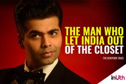 Take a backseat critics! New York Times just lauded Karan Johar for admitting he isgay