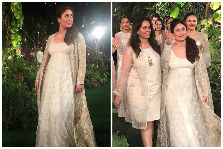 Kareena Kapoor brings down the curtains at LFW 2017 with Anita Dongre