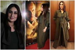 Photos: Kareena Kapoor makes a statement at hubby Saif Ali Khan's Rangoonscreening