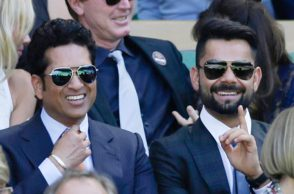 Sachin Tendulkar reckons Virat Kohli from the sweet spot of his bat