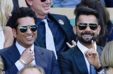 Sachin Tendulkar reckons Virat Kohli from the sweet spot of his bat
