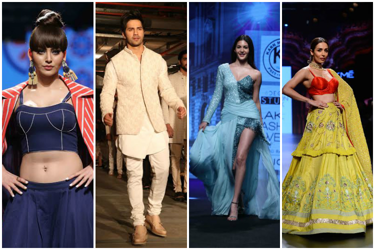 Lakme Fashion week 2017 round up: Varun, Urvashi, Malaika among others sprinkle charm at the event
