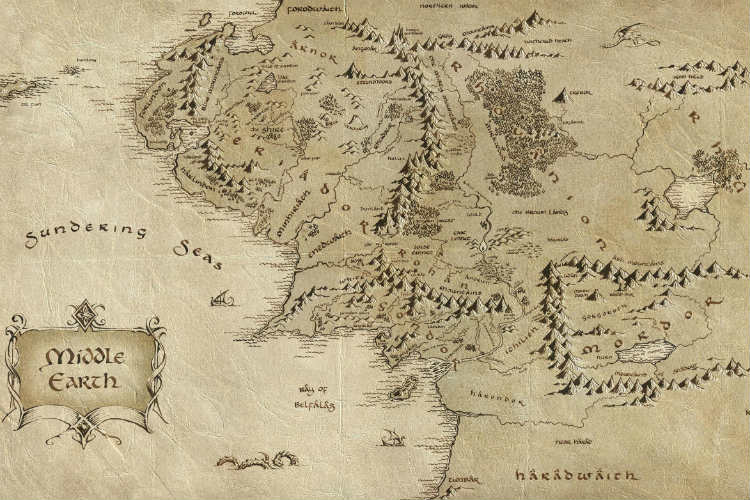 Middle Earth Lord of the Rings