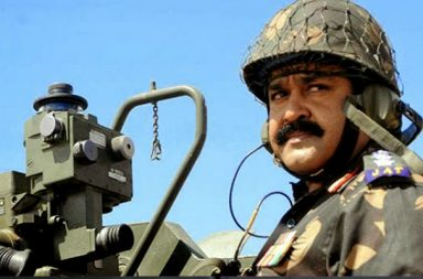 Mohanlal in a still from 1971 Beyond Borders