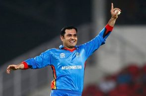 cricketer from Afghanistan Mohammad Nabi