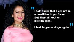 Neha Kakkar breaks down while performing at a wedding. The reason is truly inhumane