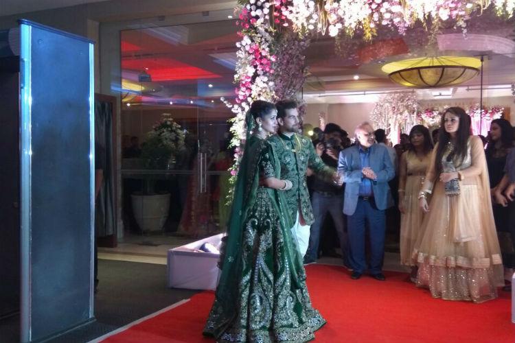 Neil Nitin Mukesh-Rukmini Sahay reception