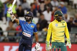 Sri Lanka vs Australia: Niroshan Dickwella wrongly adjudged out, showed anger on field, banned for two matches