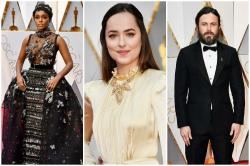 Oscars 2017: Casey Affleck, Dakota Johnson and Janelle Monáe among the worst dressed at 89th Oscars Awards