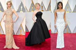 Oscars 2017 red carpet quick verdict: Velvet, gold and black rule the 89th Academy Awards