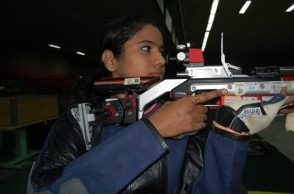 More Indian shooter Pooja Ghatkar wins bronze medal in women's 10m air rifle event of ISSF WorldCup (PIC ANI)