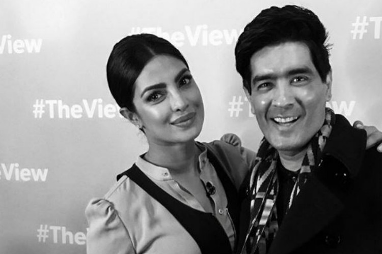 Priyanka Chopra Manish Malhotra The View