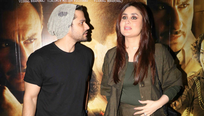 Kareena Kapoor and Kunal Khemu at Rangoon screening