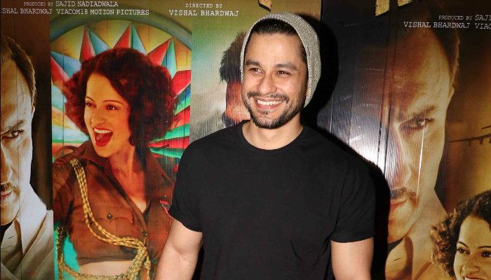 Kunal Khemu at Rangoon screening