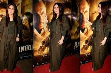 Kareena Kapoor Khan at Rangoon screening
